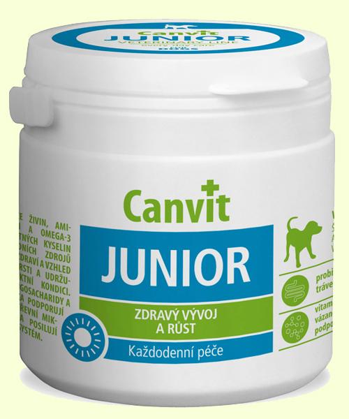 Витамины для щенков Biofaktory Canvit Junior (Канвит Юниор)