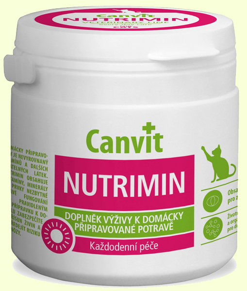 Витамины для кошек Biofaktory Canvit Nutrimin (Канвит Нутримин)