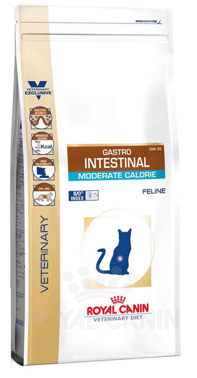 Лечебный корм для кошек Royal Canin Gastro Intestinal Moderate Calorie GIM35