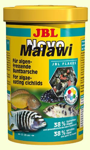 Сухой корм для рыб JBL NovoMalawi - хлопья