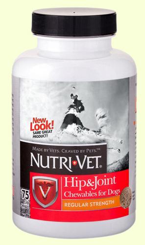 Витамины для здоровья суставов у собак Nutri-Vet Hip & Joint Regular