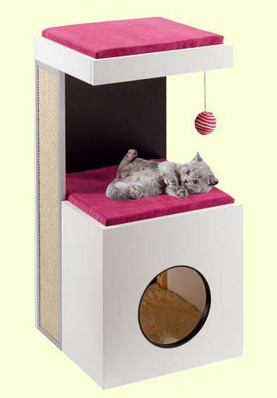 Домик-когтеточка для котят Ferplast Diablo