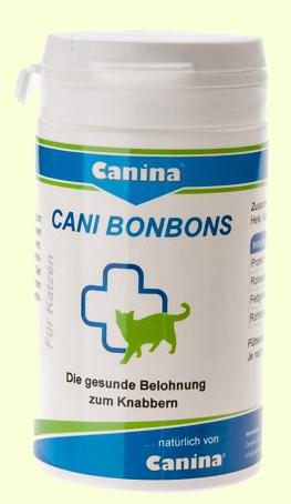 Витаминное лакомство для кошек Canina Cani-BonBon