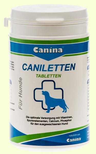 Кальций для собак Canina Caniletten