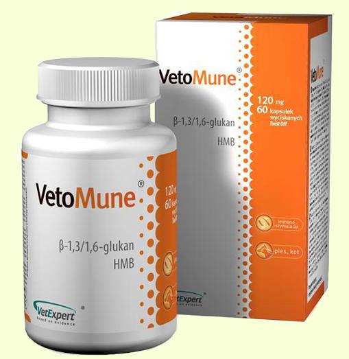 VetExpert VetoMune средство для поддержания иммунитета у собак и кошек
