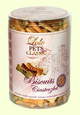 Бисквиты для собак в виде зверушек Lolo Pets Classic Bakery Mix - 3 кг