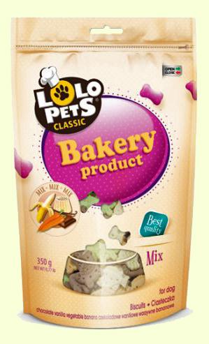 Бисквиты для собак в виде зверушек Lolo Pets Classic Bakery Mix