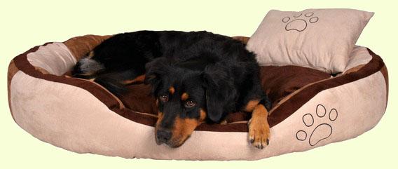 Мягкий лежак для собак Trixie Bonzo