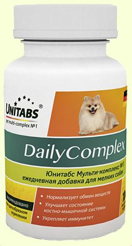 Unitabs DailyComplex мультивитамины для мелких собак (Юнитабс)