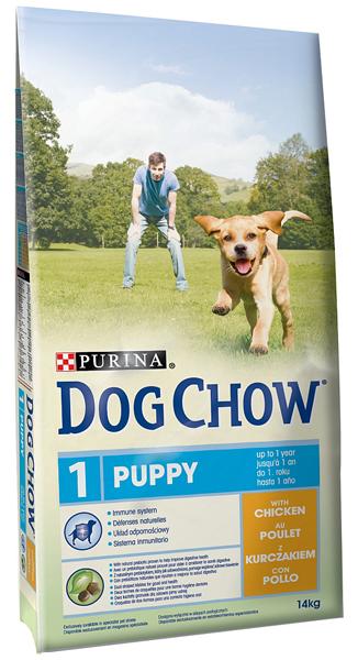 Dog Chow Puppy корм для щенков