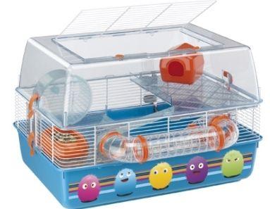 Клетка для мелких грызунов, хомяков, мышей, крыс,  Ferplast (Ферпласт) DUNA FUN DECOR
