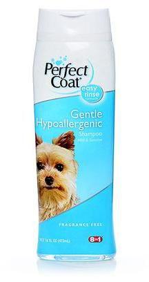 8 in1 Gentle Hypoallergenic Shampoo Шампунь для собак с чувствительной кожей