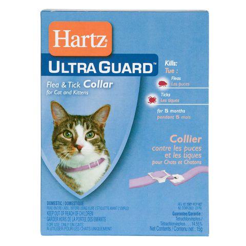 Ultra Guard Flea s Tick Collar for Cats s Kittens up to 7month Ошейник от блох и клещей для кошек и котят с 7 месяцев