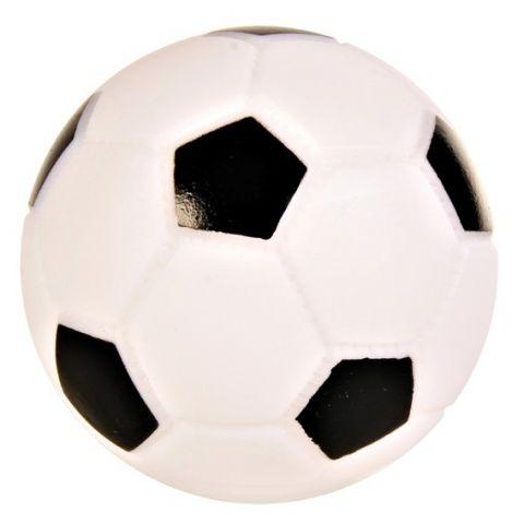 Trixie Виниловая игрушка для собак Футбольный мяч со звуком