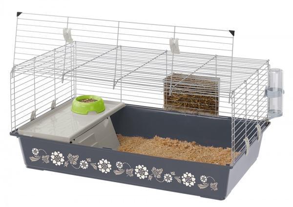 Большая клетка для грызунов и кроликов Ferplast Rabbit 100 Decor