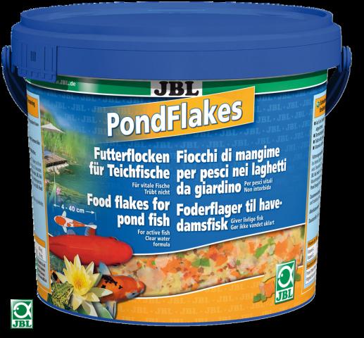 JBL Pond Flakes Корм для прудовых рыб - 5500 мл, хлопья