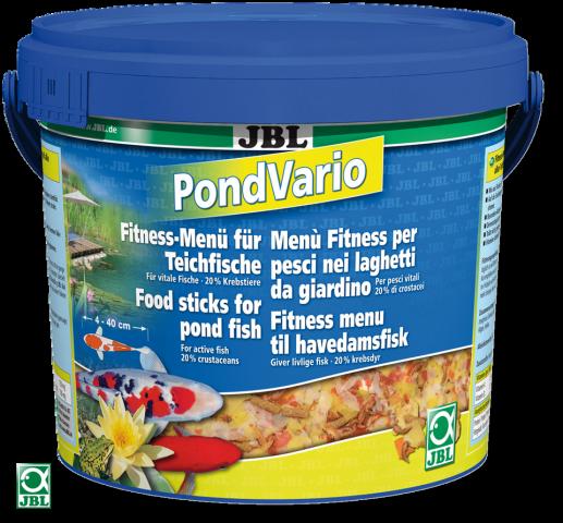 JBL Pond Vario Смесь основного корма для прудовых рыб