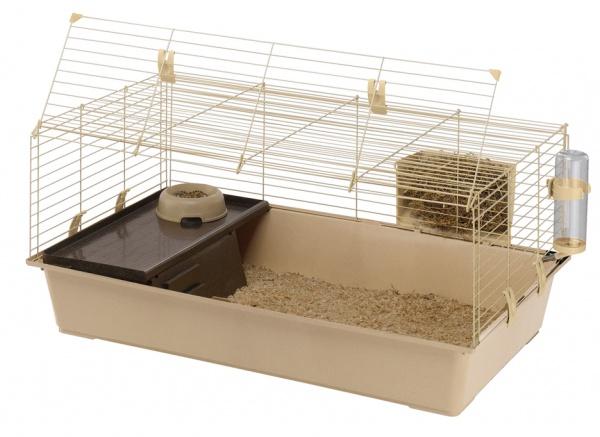 Ferplast RABBIT 100 GREENSUN (Ферпласт Ребит ГринСан) Клетка для кроликов и грызунов