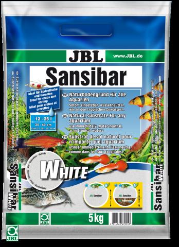 JBL Sansibar White  Грунт-песок для аквариума