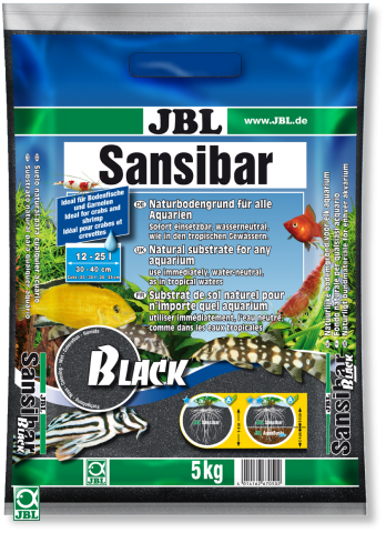 JBL Sansibar Black ( Занзибар Блек ) Грунт-песок для аквариума