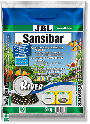 JBL Sansibar River ( Занзибар Ривер ) Грунт-песок для аквариума