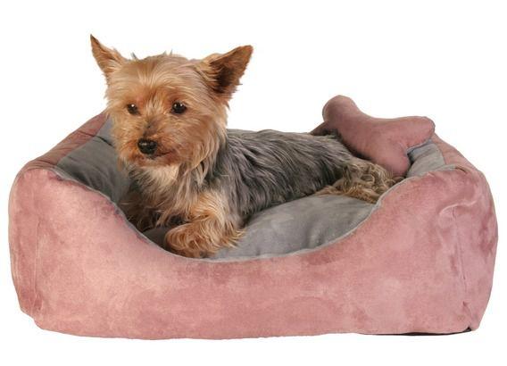Trixie Chippy Bed Лежак для собак с игрушкой косточкой