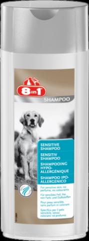 8in1 (8в1) Sensitive SHAMPOO Шампунь для собак с чувствительной кожей