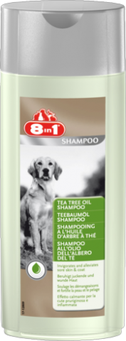 8in1 (8в1) Tea Tree Oil Shampoo Шампунь для собак с Маслом Чайного Дерева
