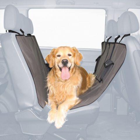 Автомобильная подстилка для собак на заднее сидение Trixie - коричневая (13233)