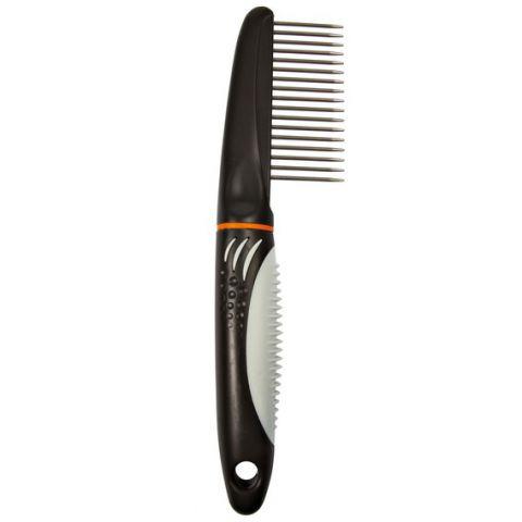 Trixie Comb Расчёска с широкими зубцами для собак (пластиковая ручка)