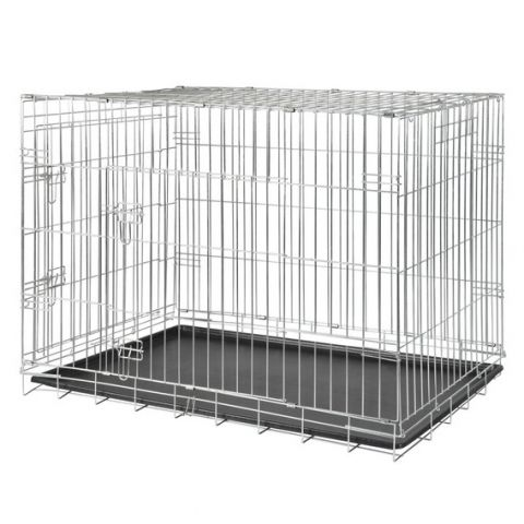 Trixie Оцинкованная клетка для собак с двумя дверьми.