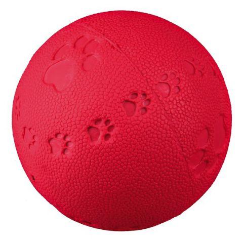 Trixie Toy Ball Игрушка для собак мяч с пищалкой + следы лапок TX - 34861