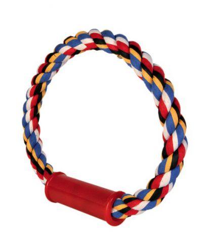 Trixie Игрушка для собак грызак на веревке круглый ø 30 см