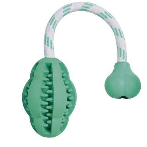 Trixie - 32945 Игрушка для собак груша на канате (резина с мятой)