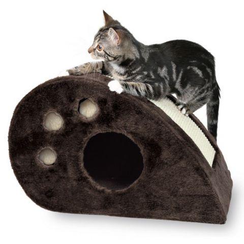 Trixie - 4358 Когтеточка домик для кошек напольная Topi Scratching Mouse