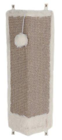 Trixie - 43081 Когтеточка для кошек настенная угловая с игрушкой