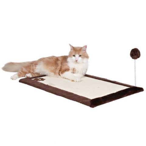 Trixie - 4323 Когтеточка для кошек напольная с игрушкой на пружине