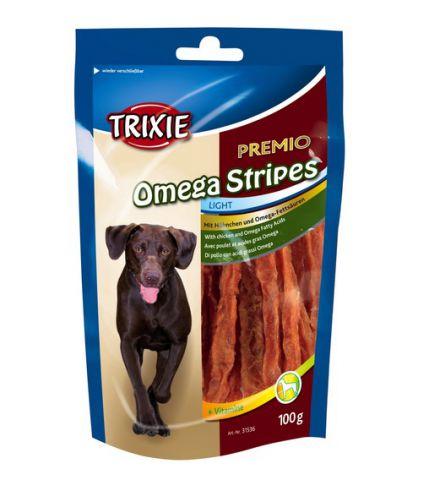Trixie - 31536 Лакомство для собак Omega Stripes (курица)