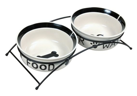 Trixie Eat on Feet Ceramic Bowl Set Две керамические миски на подставке для собак