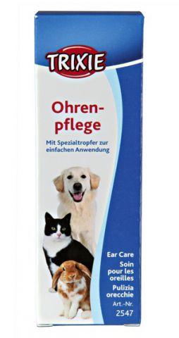 Trixe EAR CLEANER - очищающий лосьон для ушей собак и кошек со специальной питеткой
