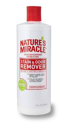 Nature's Miracle Pet Stain & Odor Remover Универсальный уничтожитель пятен и запаха от животных