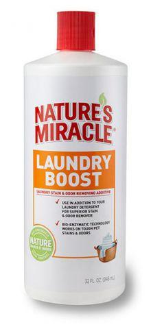 Nature's Miracle Laundry Boost Pet Stain & Odor Remover Additive Добавка к стиральному порошку для удаления пятен, запахов и аллергенов от животных