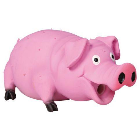 Trixie - 35499 Bristle Pig (латекс) Игрушка для собак Свинья со щетиной