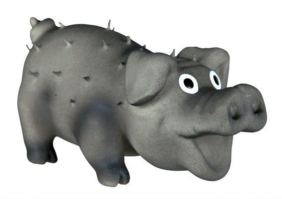 Trixie - 35190 Bristle Pig (латекс) Игрушка для собак Свинья со щетиной