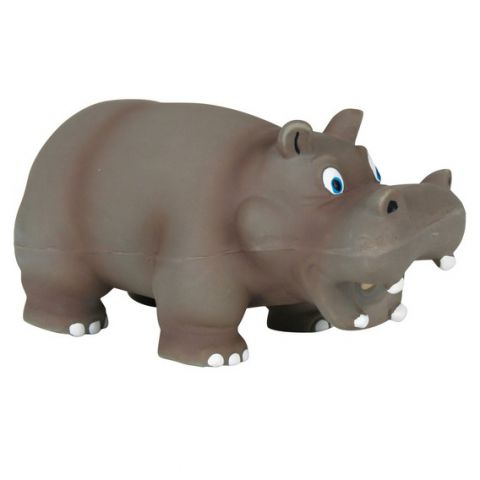 Trixie - 35472 Hippo (латекс) Игрушка для собак Гипопотам