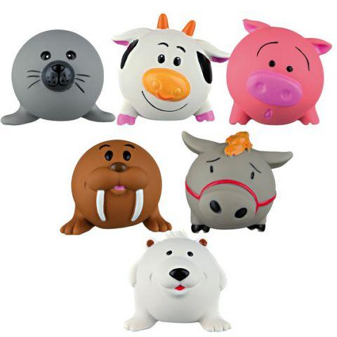 Trixie - 35283 Assortment Ball Animals (Латекс) Игрушка для собак Мячики Животные