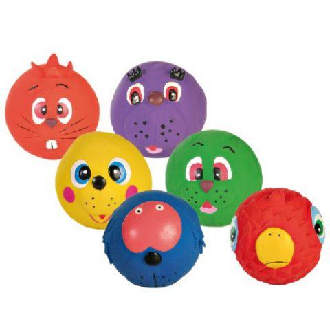 Trixie - 3504 Assortment Faces Toy Balls (Латекс) Игрушка для собак Мячики Лица