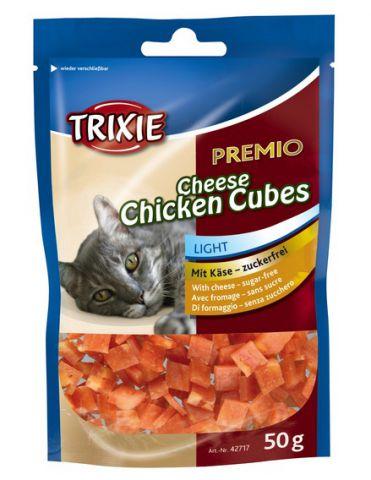 Trixie - 42717 PREMIO Cheese Chicken Cubes Лакомства для кошек (курица+сыр)