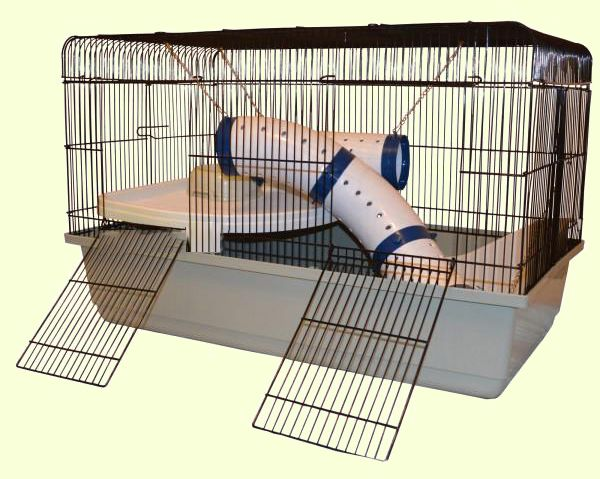Клетка для грызунов Golden Cage Ferret 80 DeLuxe. Размеры: 79х44х51 см