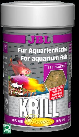 Сухой корм для рыб JBL Krill Premium - хлопья